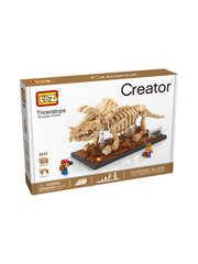 Конструктор LOZ Динозавр Трицератопс 660 деталей NO. 9025 Dinosaur Treceratops Creator Series