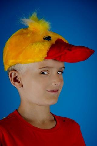 Карнавальная шапочка Утка