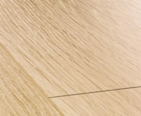 White varnished Oak planks | Ламинат QUICK-STEP LPU1283