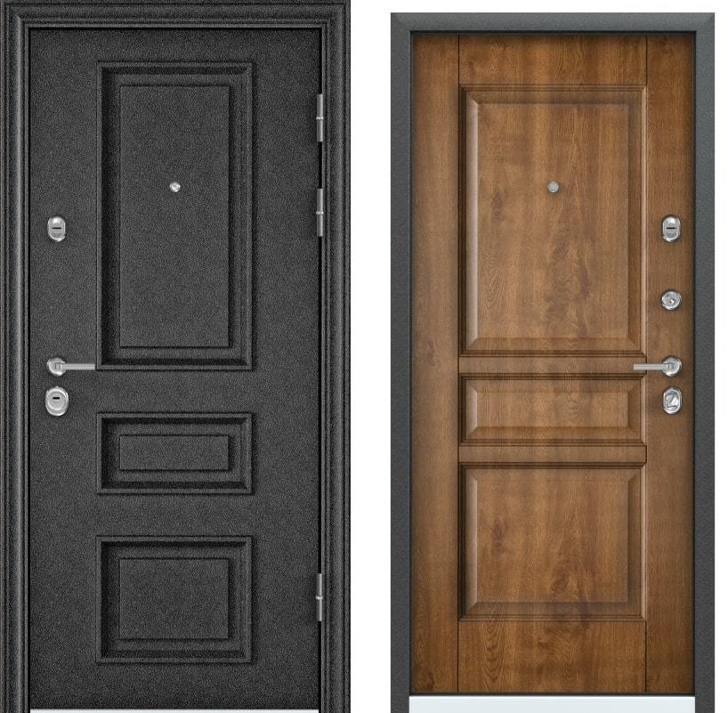 Входные двери Torex Ultimatum M FL-1 чёрный шёлк PK-8U ПТ дуб медовый generated_image-8.jpg