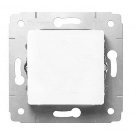 Выключатель одноклавишный проходной Переключатель на два направления - 10 AX - 250 В~. Цвет Белый. Legrand Cariva (Легранд Карива). 773657