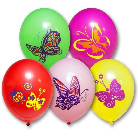 Воздушные шары бабочки