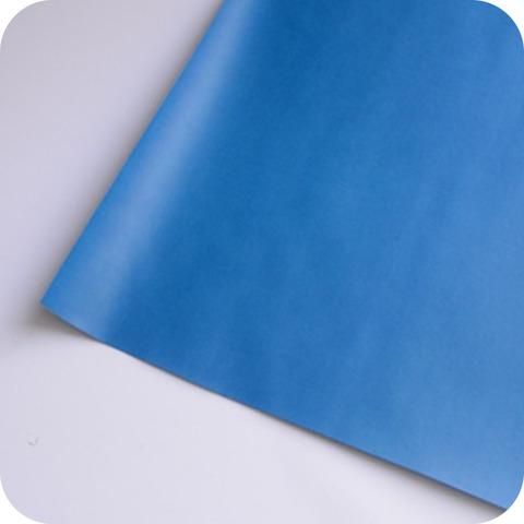 Кожзам переплетный матовый, ярко синий
