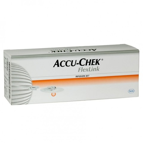 Набор инфузионный  Акку-Чек ФлексЛинк 6/60  (длина иглы 6 мм, длина катетера 60 см)