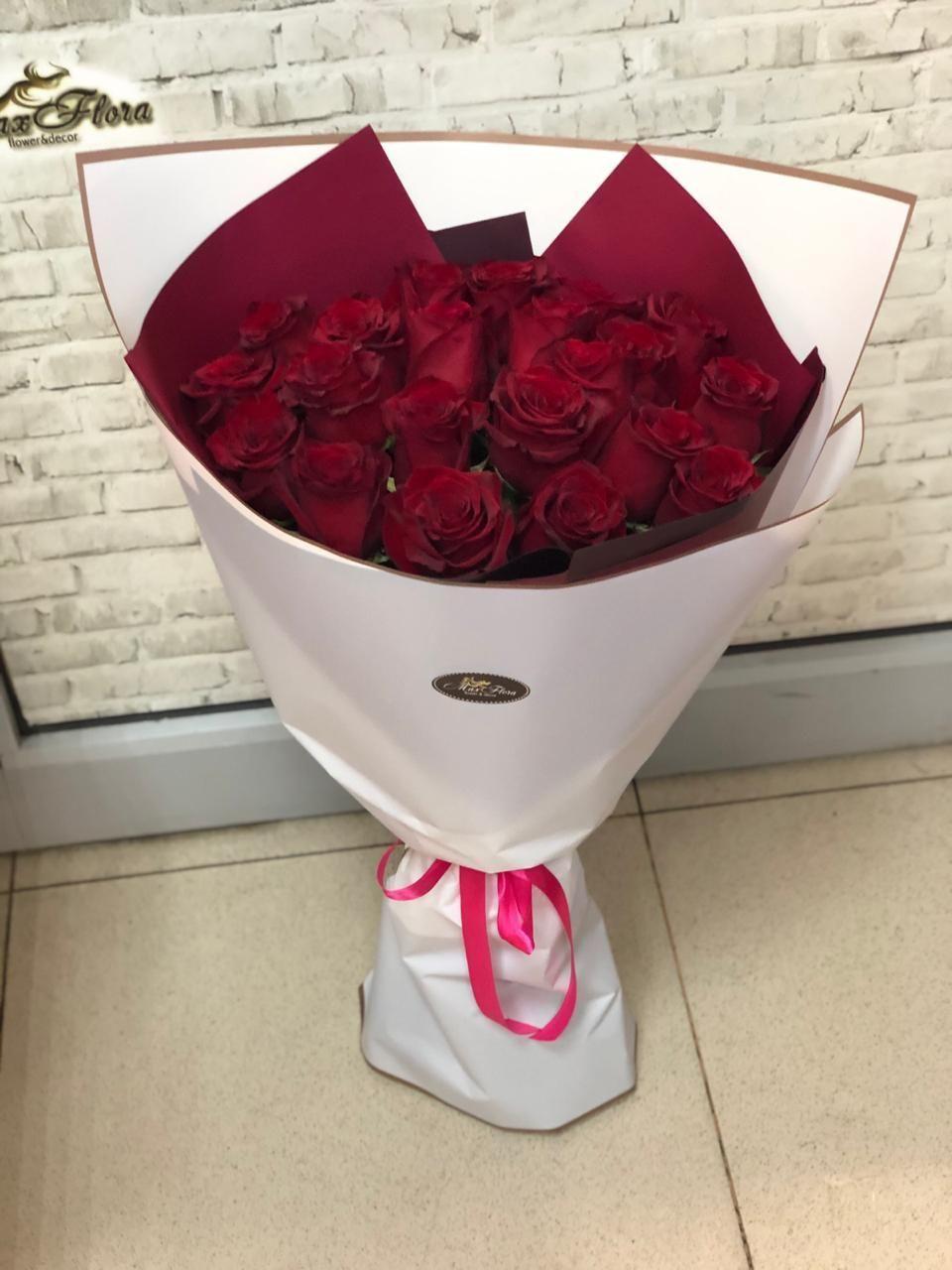Букет из розы 21 шт (Б-65)
