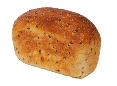 Хлеб бездрожжевой пшеничный со льном 300 г,(вл.30)