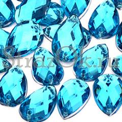 Купить стразы недорого пришивные акрил Drope Aquamarine