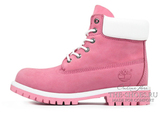 Ботинки Женские Timberland 17061 Waterproof Pink White
