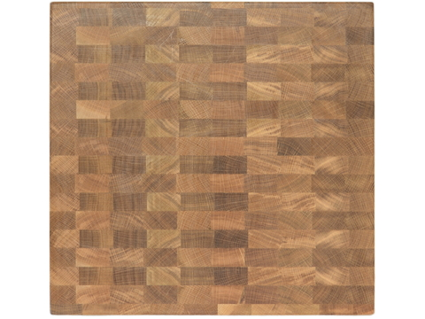 деревянная торцевая разделочная доска из дуба столярной мастерской EtWood