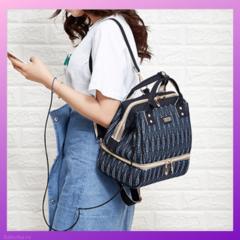 Сумка-рюкзак для мамы 2в1