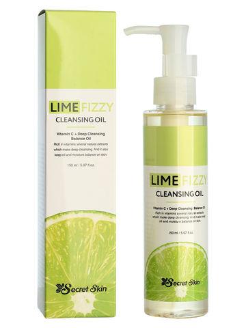 Гидрофильное масло с экстрактом лайма, 150 мл, SecretSkin Lime Fizzy Cleansing Oil