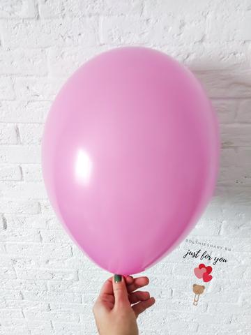 Воздушный шар розовый