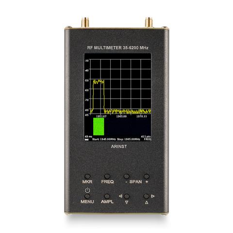 Arinst SSA-TG R2s портативный анализатор спектра с трекинг-генератором