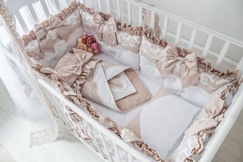 Комплект в кроватку Dynasty, на 4 стороны кроватки