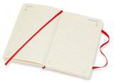 Ежедневник Moleskine мягкая обложка красный (DSF212DC2)