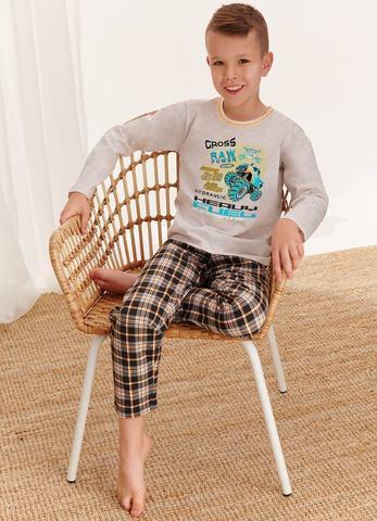 Пижама для мальчиков со штанами TARO (2342/2343 S20/21 LEO)