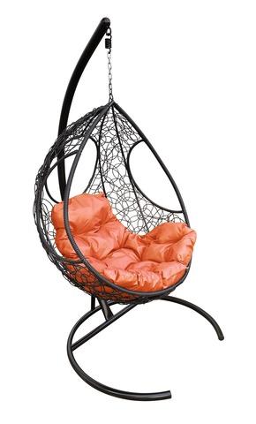 Кресло подвесное Ferrol black/orange