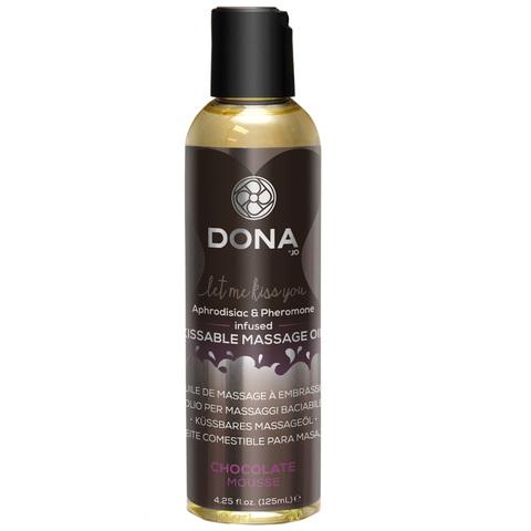 Вкусовое массажное масло с феромонами DONA
