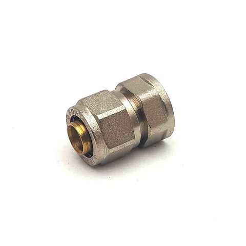 Муфта  для металлопластиковых труб  разборная  20*1/2 внутренняя резьба SD Forte
