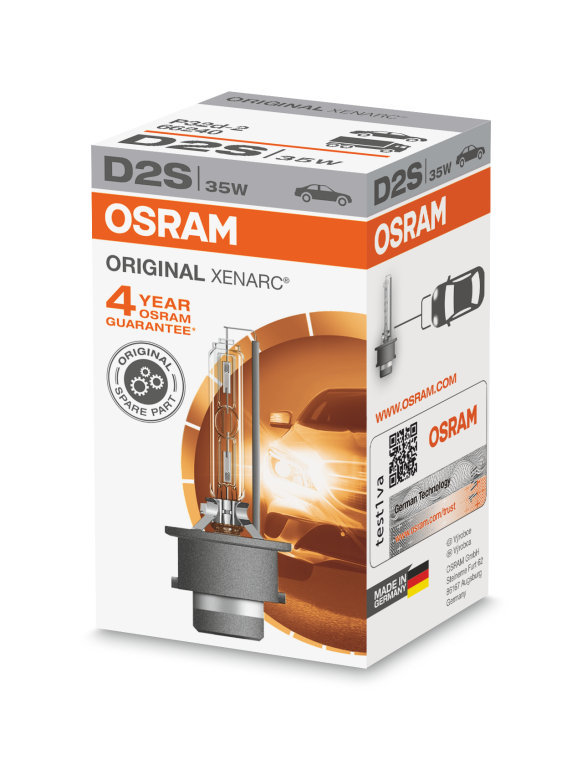 D2S Xenarc ORIGINAL Ксеноновая лампа OSRAM (артикул 66240)
