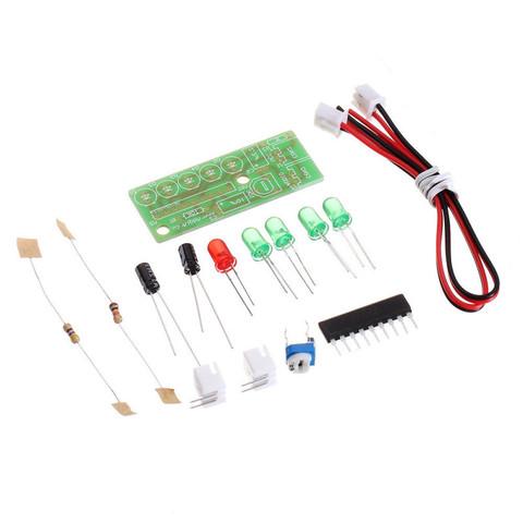 Светодиодная индикация для металлоискателя