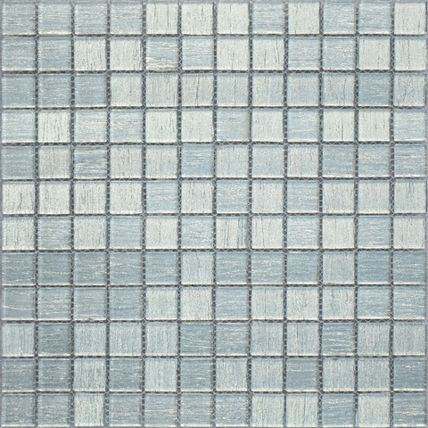 Мозаика  стеклянная Silver Satin 23x23x4  298х298