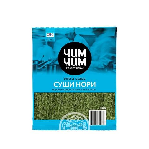 Водоросли морские сушеные Суши Нори ЧИМ ЧИМ 10 листов 24г пак Корея