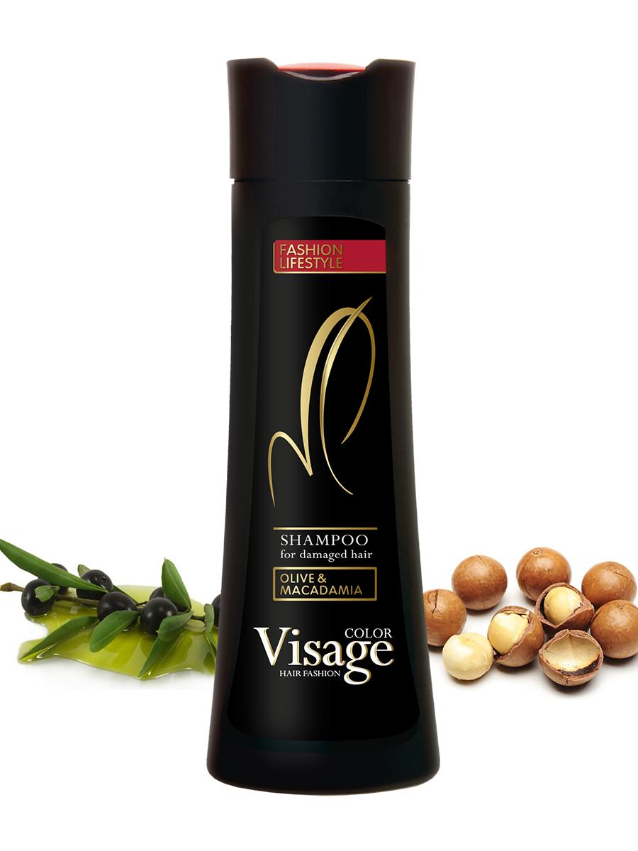 Шампунь для ломких и вьющихся волос / Visage Damaged Hair Shampoo, 250 мл