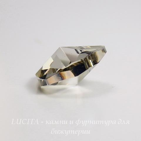 6228 Подвеска Сваровски Сердечко Crystal Silver Shade (18х17,5 мм) ()