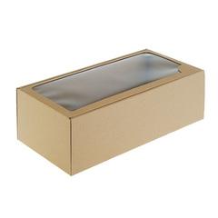 Коробка с окном прямоугольная, 16*35*12 см, 1 шт.