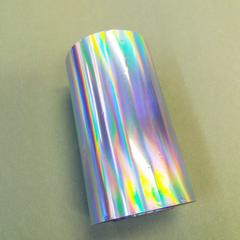Фольга для золочения, Галлография полоски Серебро