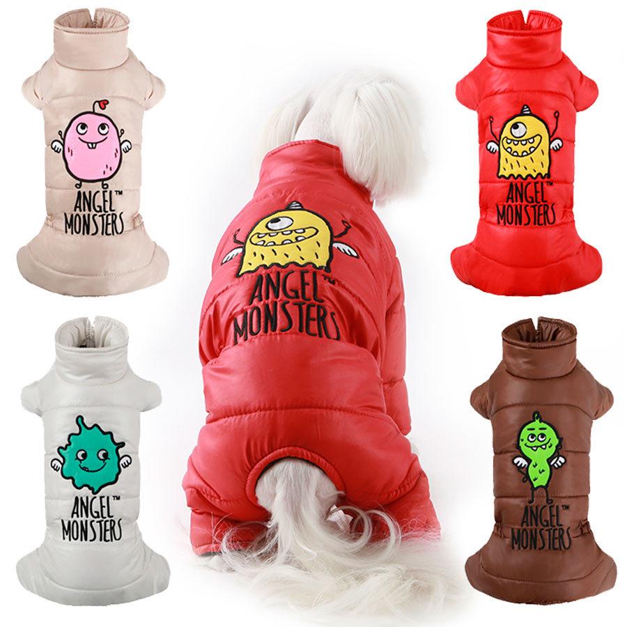 363 PA Комбинезоны для собак Монстрик для девочек