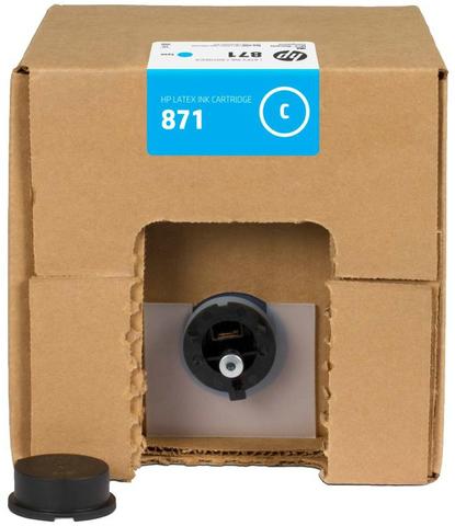 Картридж HP 871 (G0Y79C) Cyan 3000 мл