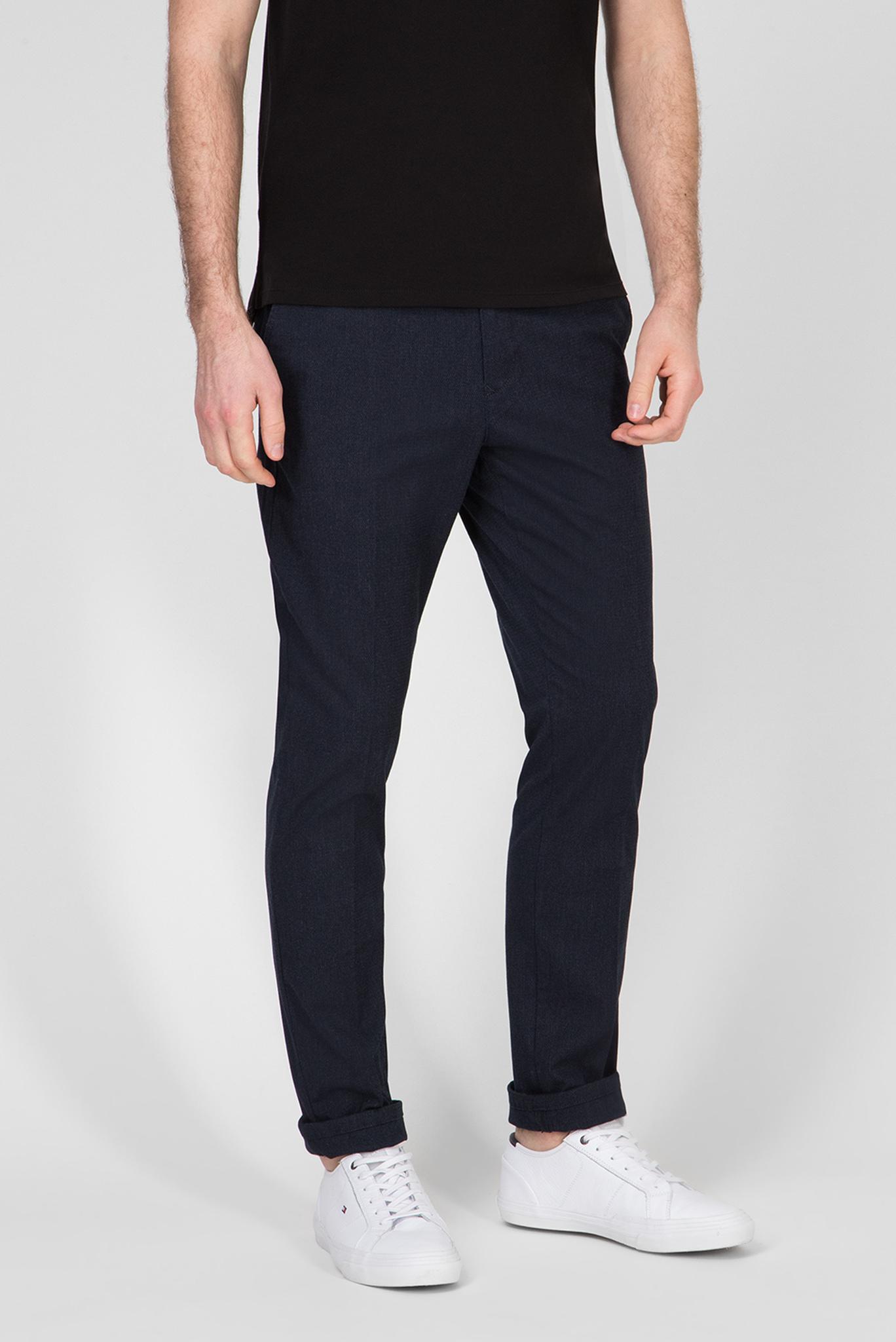 Мужские темно-синие брюки ACTIVE TH FLEX STRETCH MELANGE Tommy Hilfiger