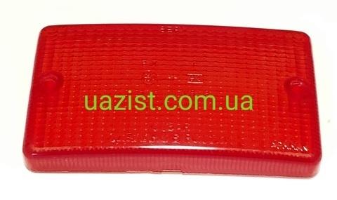 Стекло фонаря заднего противотуманного Уаз Хантер, 315196 (красное)