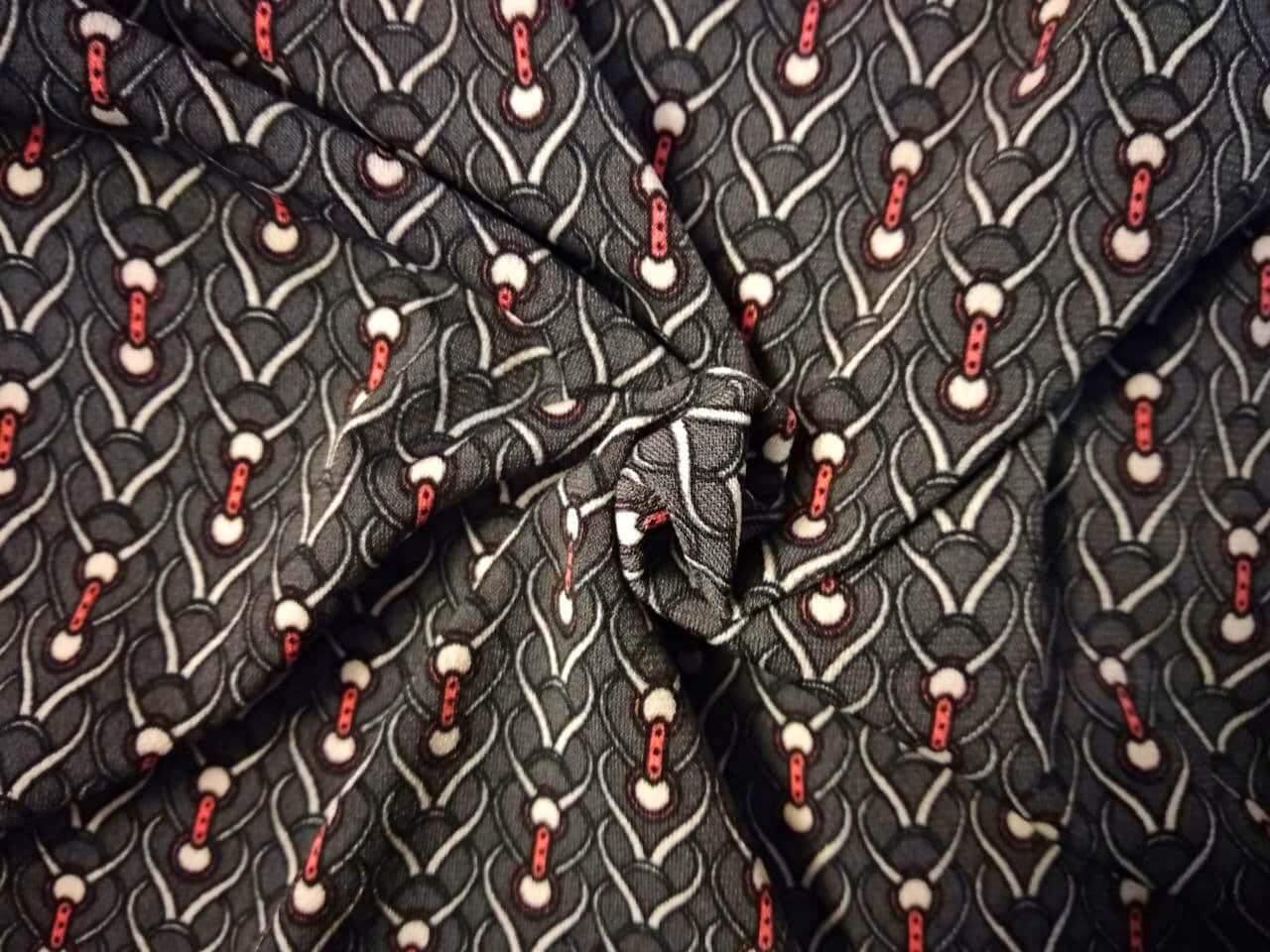 Трикотажные шаровары с принтом Замочки