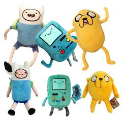 Время приключений мягкие игрушки героев
