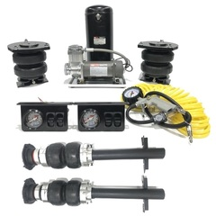 Полная пневмоподвеска Fiat Ducato, Peugeot Boxer, Citroen Jumper + система управления 4 контура  (ресивер)