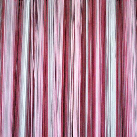 Кисея радуга Белая, розовая, фуксия. Ш-300см., В-280см. Арт.627