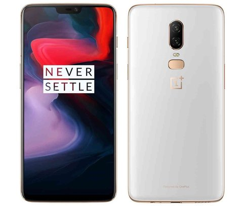 Смартфон OnePlus 6 8/128GB Silk White (Белый)
