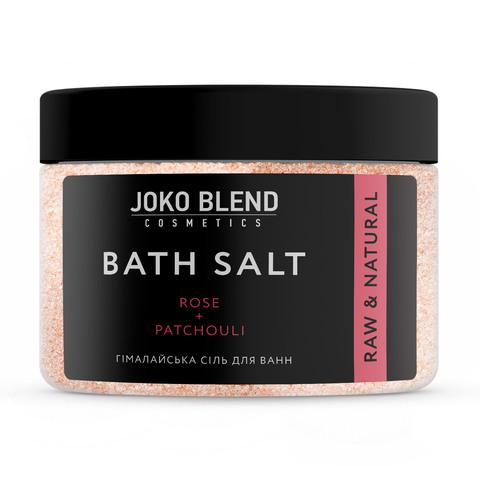 Гімалайська сіль для ванн Троянда-Пачулі Joko Blend 400 гр (1)