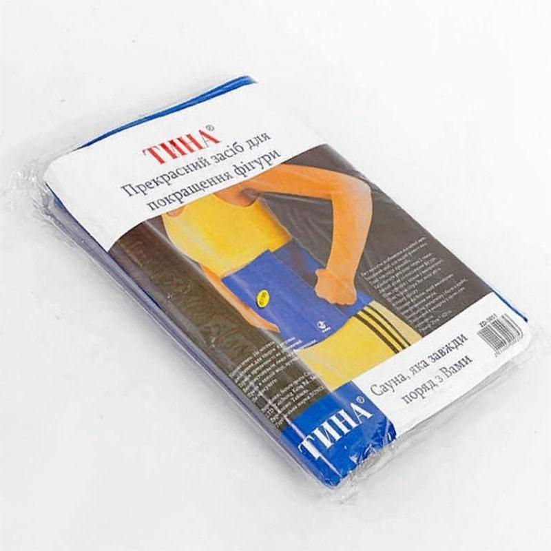 Пояс для схуднення SUNEX 25 * 102 см на липучці - упаковка