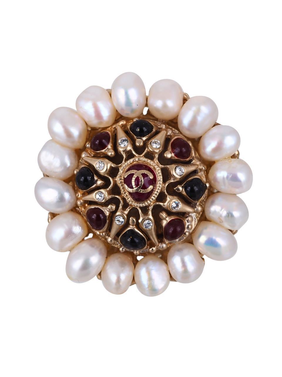Крупное кольцо Chanel 2009 год