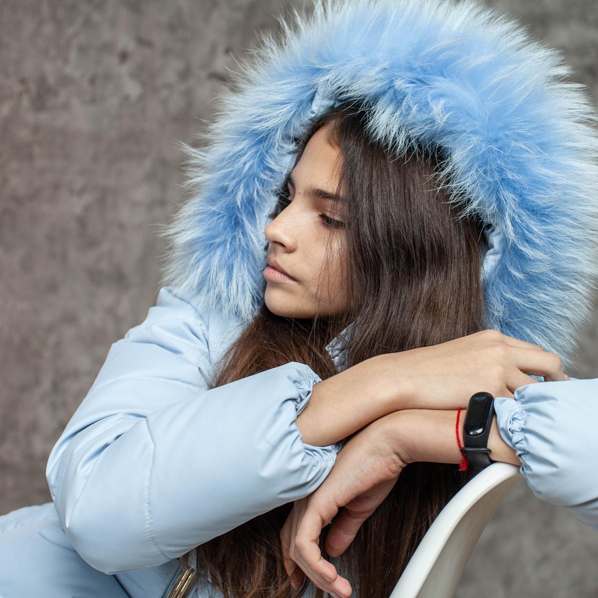 Пальто зимове підліткове для дівчаток