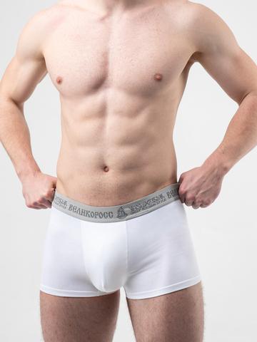 Мужские трусы ВЕЛИКОРОСС боксеры «Белые»