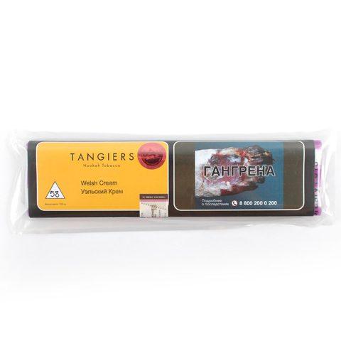 Табак для кальяна Tangiers Noir (желтый) 58 Welsh Cream