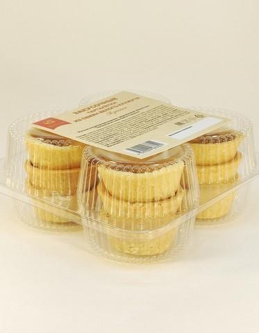 Закусочные тарталетки из семян белого кунжута  (Пресные), 110 г