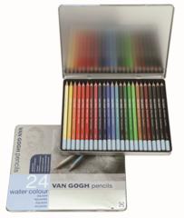 Набор из 24 акварельных карандашей Van Gogh