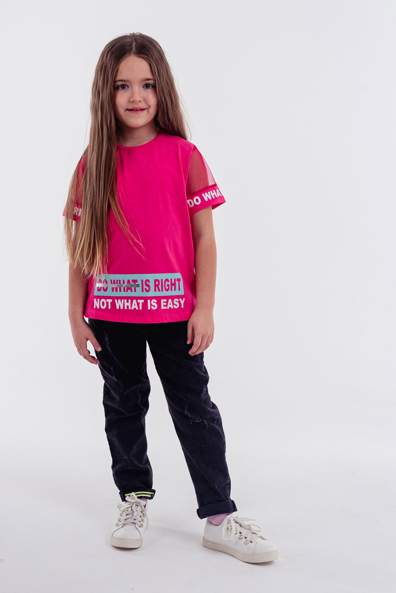 Футболка для девочки Via Турция, 3989