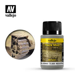 Weathering Effects 40ml. Industrial Thick Mud